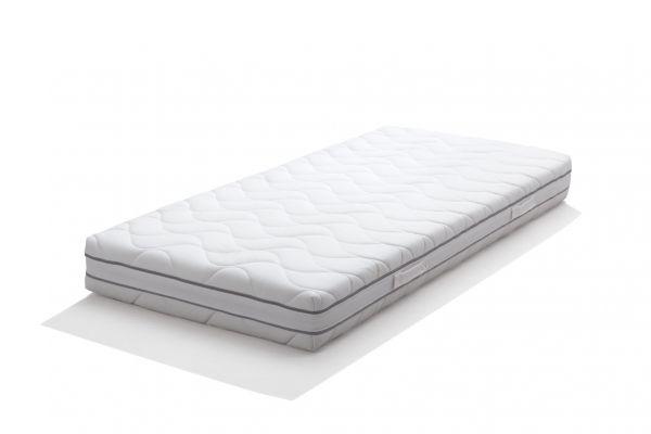 "2x 100% Naturlatex-Matratze ""ComfortThera+"" 90x200 cm (180x200cm), 7 Zonen, Kerngesund"