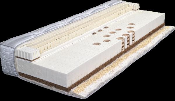 VitalWood MASTERPIECE 90x200 cm. Die einzigartige HOLZFEDERKERN-Matratze mit Zirbenspan-Einlage