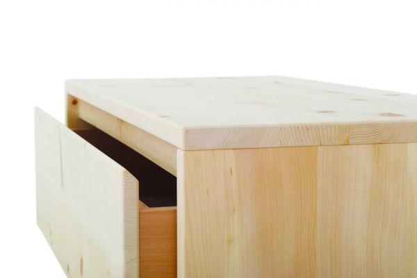 Sonder-Angebot für Herrn Tobias HORN - Zirbenkommode ADELE 200x100x50 cm.10 Schubladen mit Vollauszü