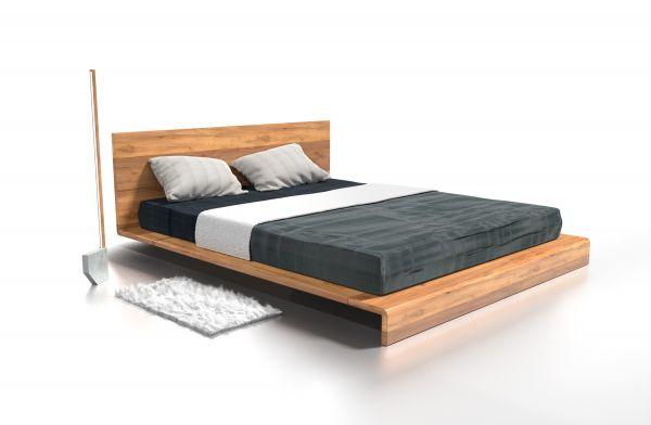 Eiche-Designerbett BERLIN 200x200 cm. Schöner schlafen