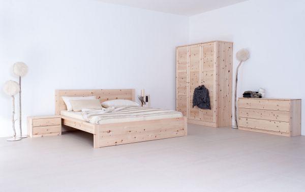 Zirben-Schlafzimmer ALPENKRAFT Komplett-Angebot