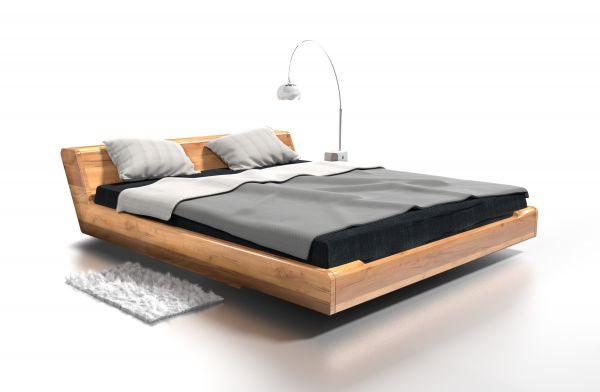 Eiche-Designerbett KOPENHAGEN 160x200 cm. Schöner schlafen