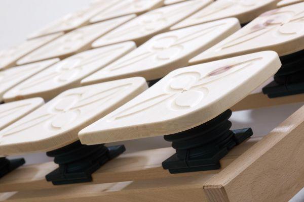 Zirbenteller-Lattenrost 140x200 cm, Ergonomie und Natur