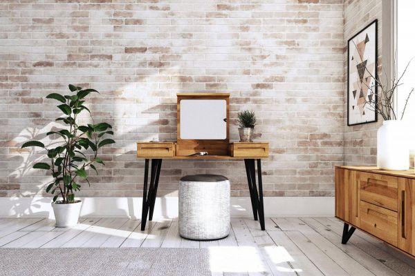 Eiche-Designer-Schminktisch 2620 - aus der Möbel-Kollektion POLO, ein Musthave