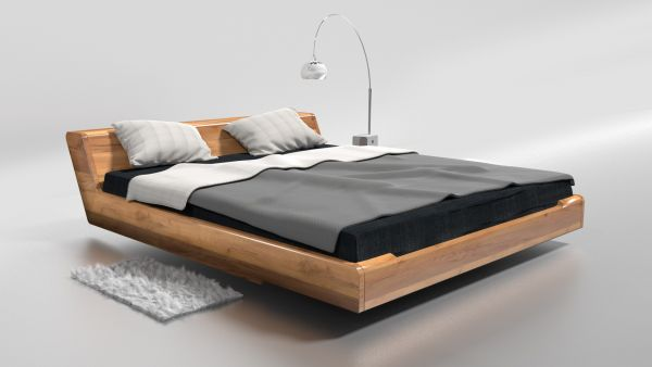 Sonder-Angebot für Familie Quabeck - 1x Eiche-Designerbett KOPENHAGEN 160x200 cm