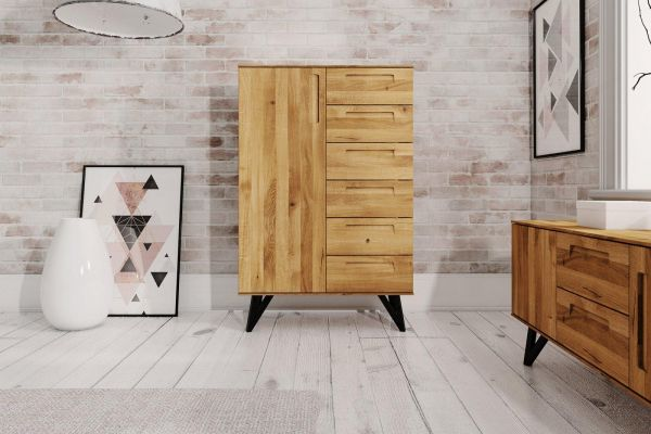 Eiche-Kommode 2618 - aus der Möbel-Kollektion POLO