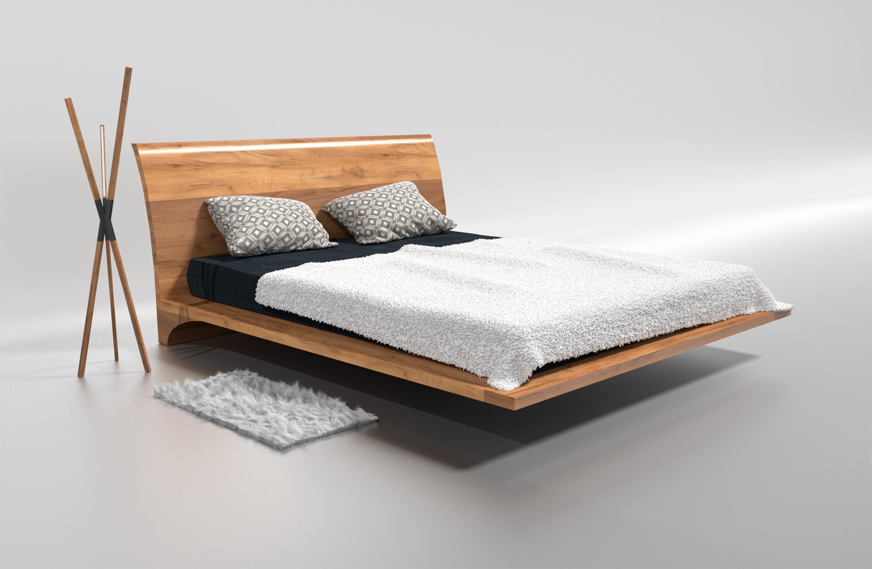 Designer-Eichenbett DUBAI. Schöner schlafen | SchlafFreude.com