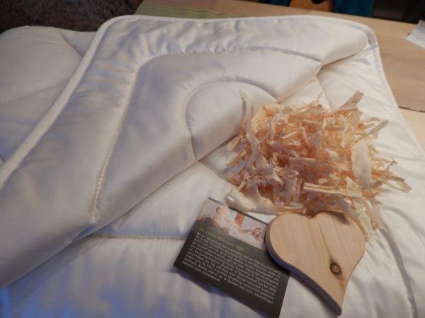 Bio-Zirben-Unterbett - 90x200 cm. Nur das Beste ins Bett