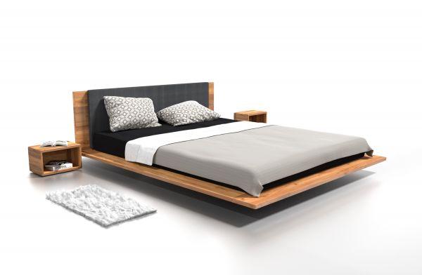 Designer-Eichenbett NEW YORK 160x200 cm. Schöner schlafen