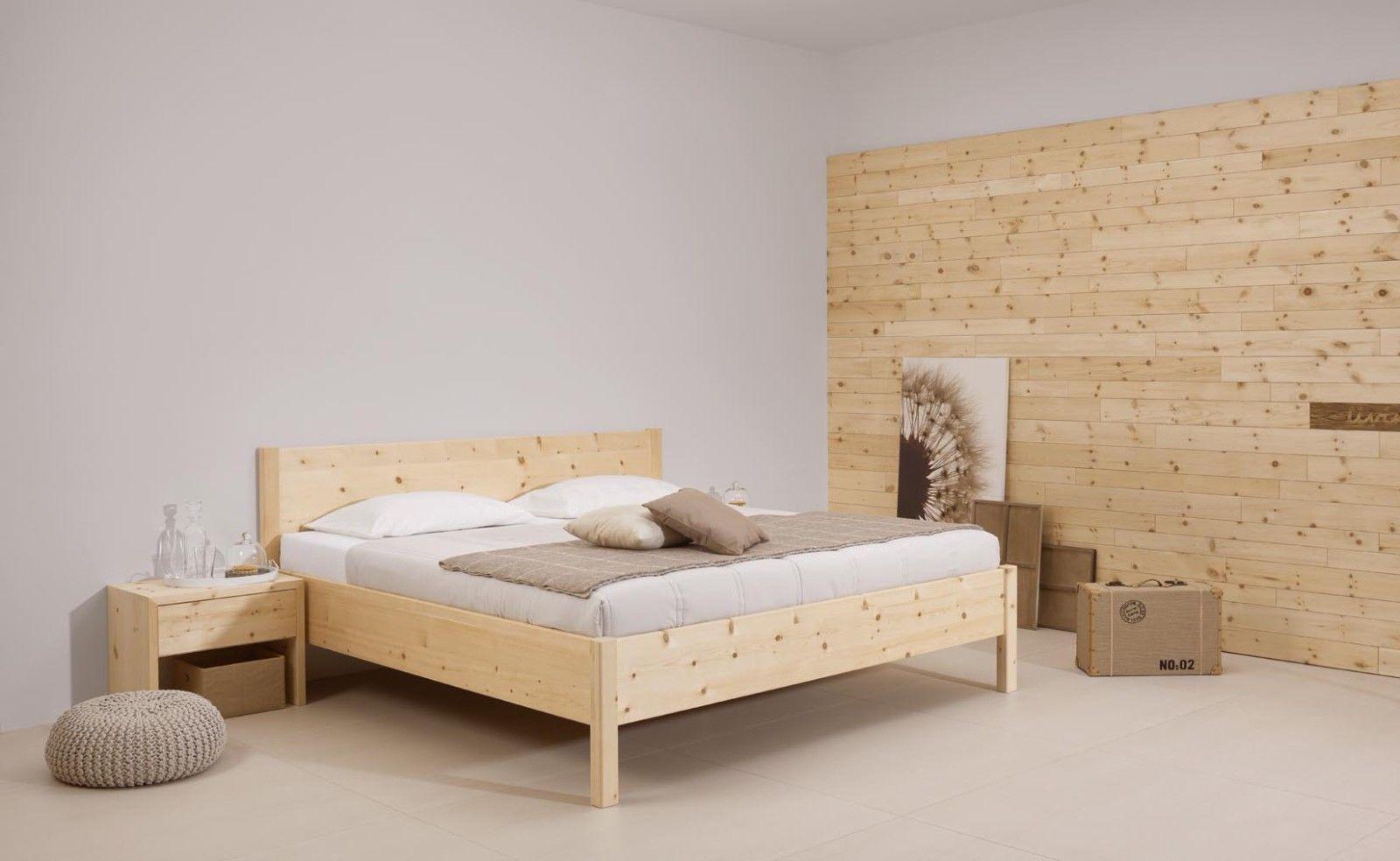 Zirben-Designerbett ZIRBENPARADIES Bettanlage   Zirbenbetten  Betten ...