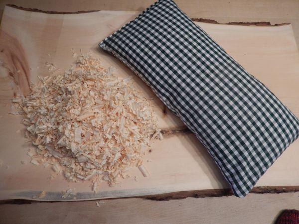Zirbenkissen natur / Zirbel-Kissen 19x39cm