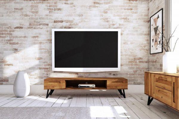 Eiche Lowboard 2622 - aus der Möbel-Kollektion POLO, Wildeiche